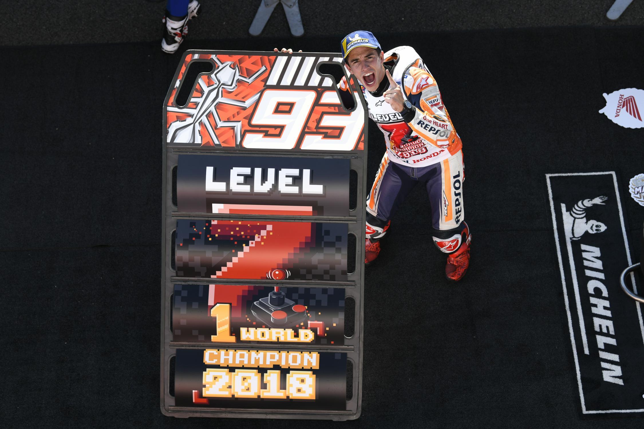 2018 MotoGP Marc Marquez