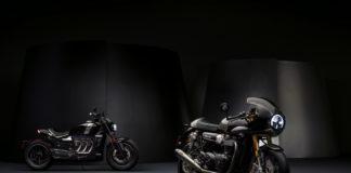 Triumph Thruxton TFC and Rocket TFC Concept